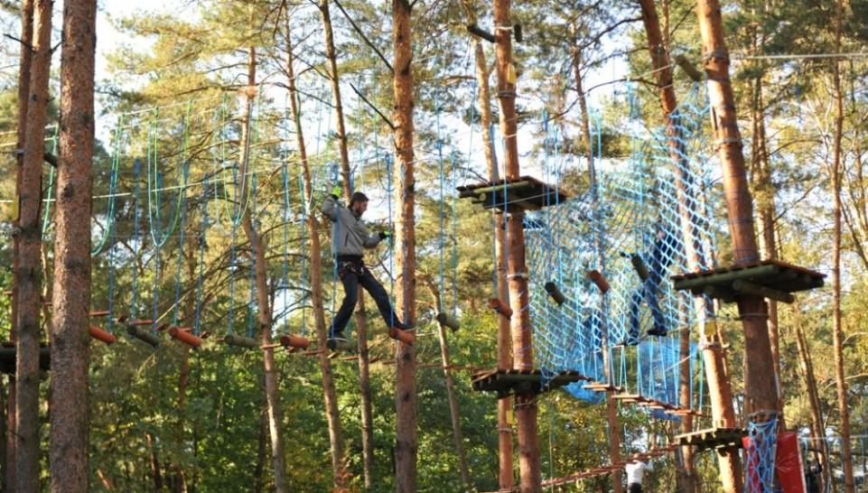 Park Linowy w Mielnie